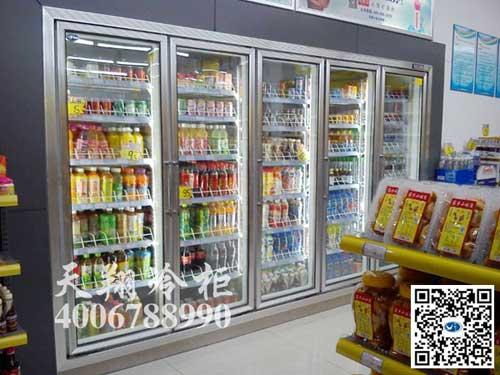 公路服务站饮料柜