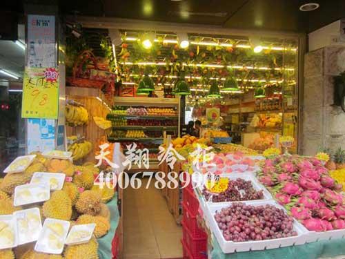 水果店冰柜